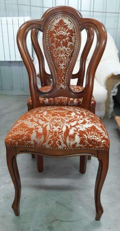 Реставрация, перетяжка стульев - фото №6
