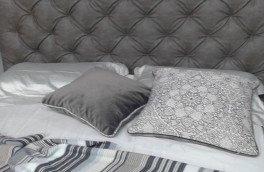 Перетяжка и ремонт кроватей - фото наших работ №33