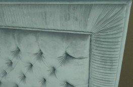 Перетяжка и ремонт кроватей - фото наших работ №48