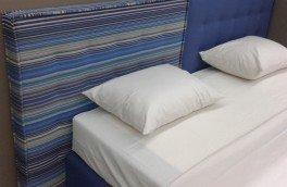 Перетяжка и ремонт кроватей - фото наших работ №16