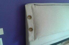 Перетяжка и ремонт кроватей - фото наших работ №43