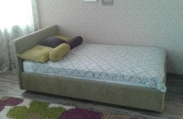 Перетяжка и ремонт кроватей - фото наших работ №45