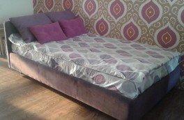 Перетяжка и ремонт кроватей - фото наших работ №41