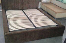 Перетяжка и ремонт кроватей - фото наших работ №25