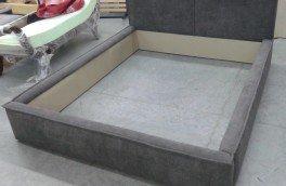Перетяжка и ремонт кроватей - фото наших работ №21