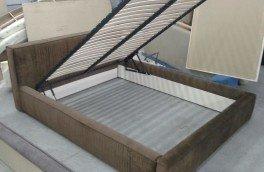 Перетяжка и ремонт кроватей - фото наших работ №22