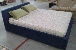 Перетяжка и ремонт кроватей - фото наших работ №17
