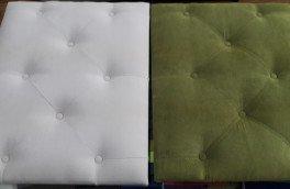 Перетяжка и ремонт кроватей - фото наших работ №7