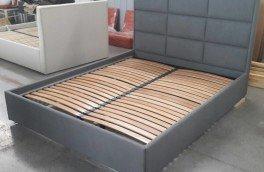 Перетяжка и ремонт кроватей - фото наших работ №59