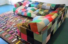 Фото Перетяжка и ремонт угловых диванов