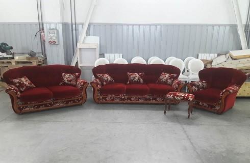 Перетяжка и обивка диванов - фото наших работ №14