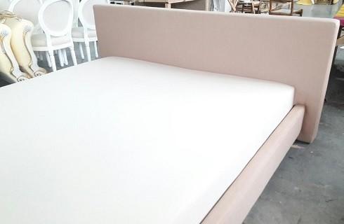 Перетяжка и ремонт кроватей - фото наших работ №1