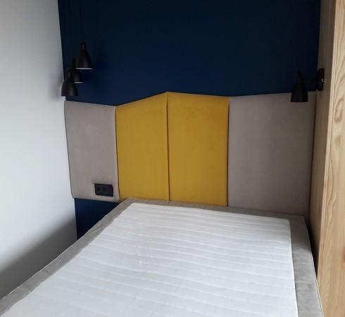 Изготовление мягких настенных панелей - фото наших работ №38