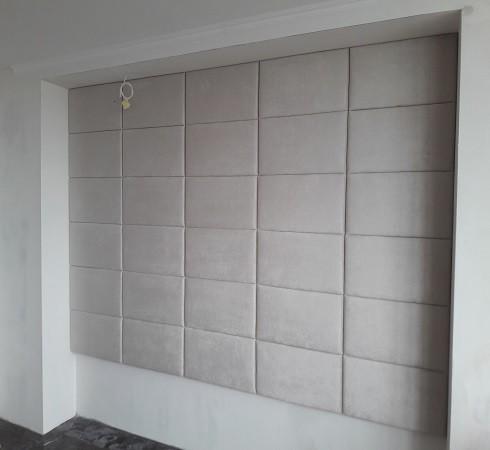 Изготовление мягких настенных панелей - фото наших работ №40