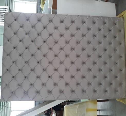 Изготовление мягких настенных панелей - фото наших работ №28