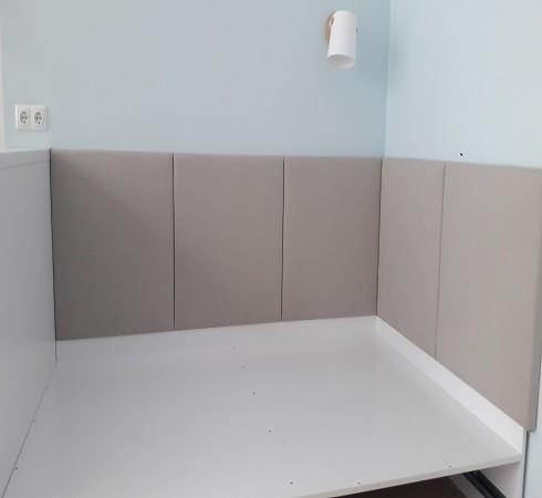 Изготовление мягких настенных панелей - фото наших работ №30