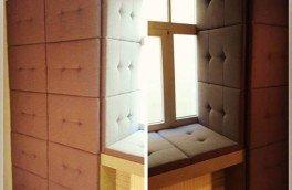 Изготовление мягких настенных панелей - фото наших работ №52