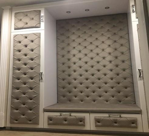 Изготовление мягких настенных панелей - фото наших работ №24