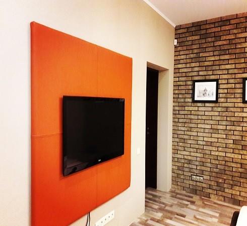 Изготовление мягких настенных панелей - фото наших работ №20