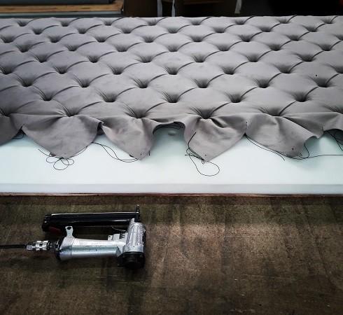 Изготовление мягких настенных панелей - фото наших работ №22
