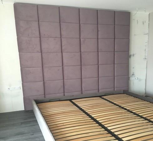 Изготовление мягких настенных панелей - фото наших работ №14