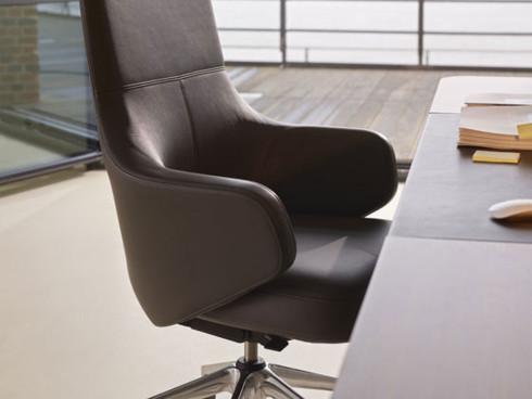 Перетяжка и ремонт офисных кресел (стульев) - фото №8