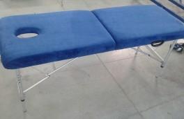 Перетяжка массажных столов - фото наших работ №1