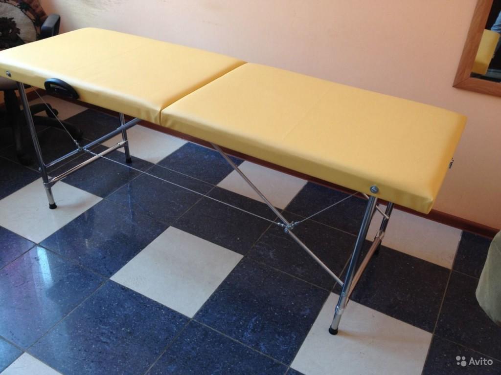 Перетяжка массажного стола своими руками
