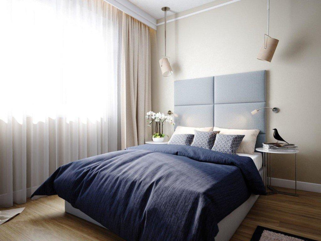 Изготовление и перетяжка изголовий кроватей - фото наших работ №6