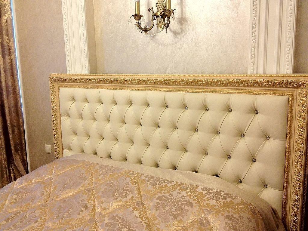 Изготовление и перетяжка изголовий кроватей - фото наших работ №10