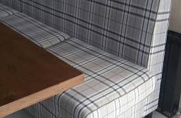 Перетяжка и ремонт ресторанной мягкой мебели - фото наших работ №8