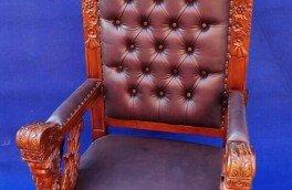 Реставрация и ремонт антикварной мягкой мебели - фото наших работ №9