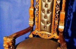 Реставрация и ремонт антикварной мягкой мебели - фото наших работ №20