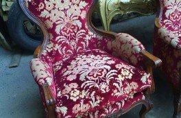 Реставрация и ремонт антикварной мягкой мебели - фото наших работ №17