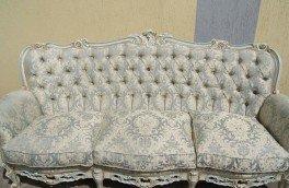 Реставрация и ремонт антикварной мягкой мебели - фото наших работ №16